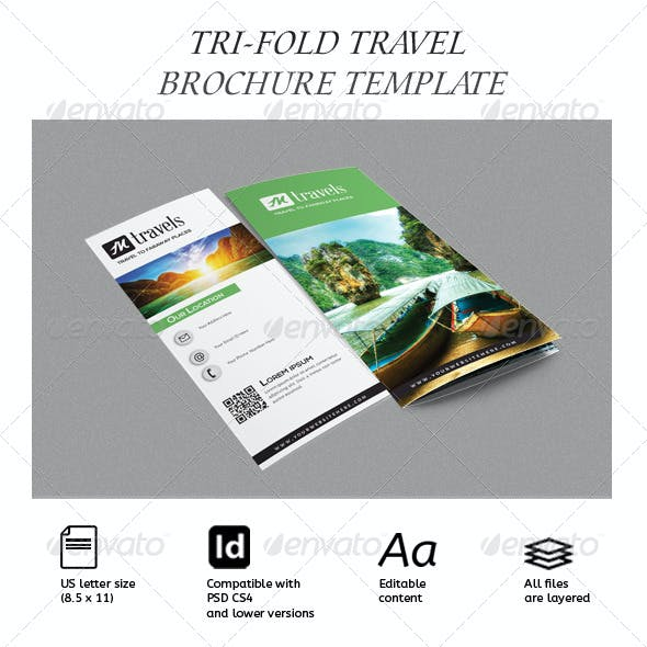 travel brochure graphics designs templates from graphicriver