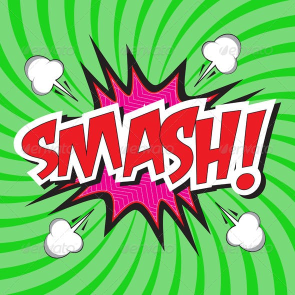 smash comic speech bubble in pop art style by jo ritchy graphicriver