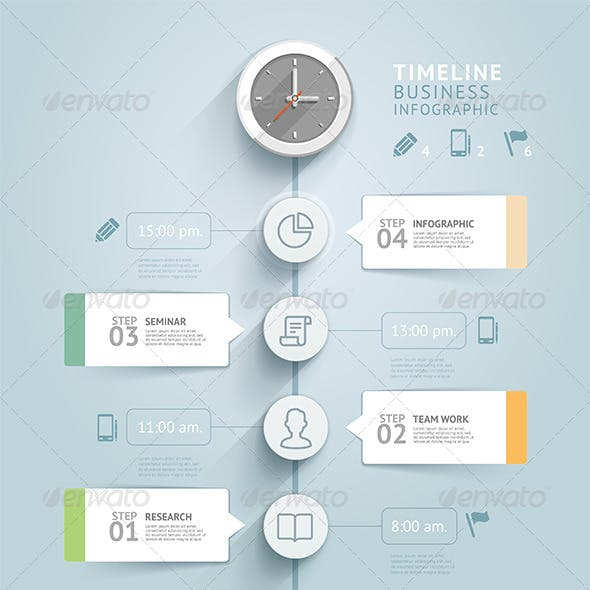 timeline infographic template graphics designs templates