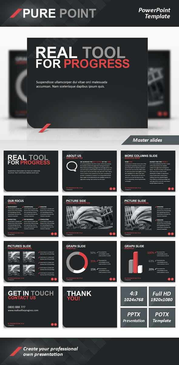 Pure Point Template Templates Presentation