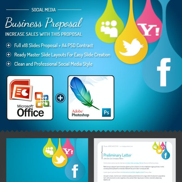 proposal word presentation templates from graphicriver
