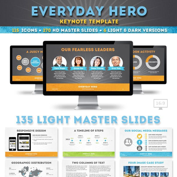 starburst presentation templates from graphicriver