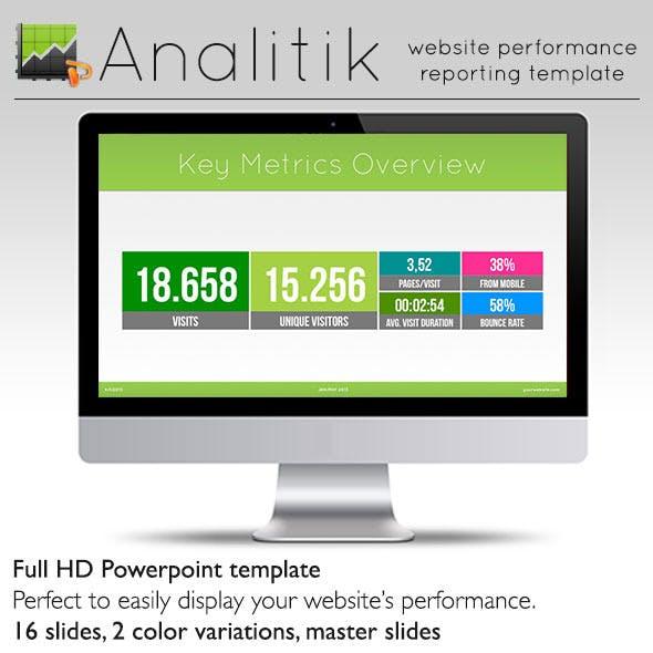Kpi Performance Presentation Templates from GraphicRiver