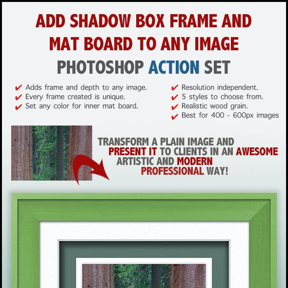Frame Photoshop Photo Effects from GraphicRiver