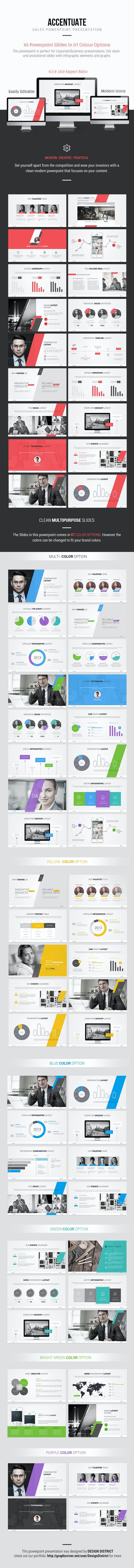 sales powerpoint presentation by designdistrict graphicriver