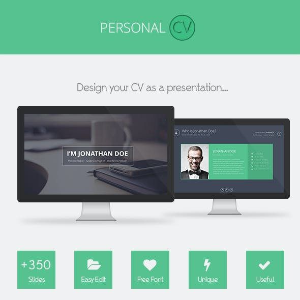 Personal CV Powerpoint