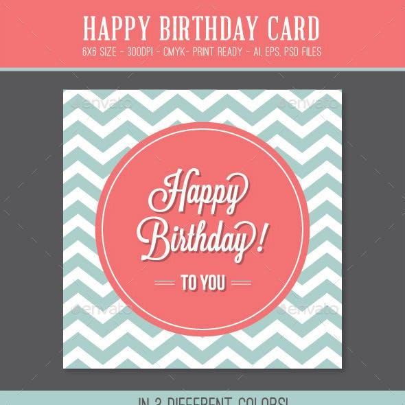 Happy Birthday Card Graphics Designs Templates
