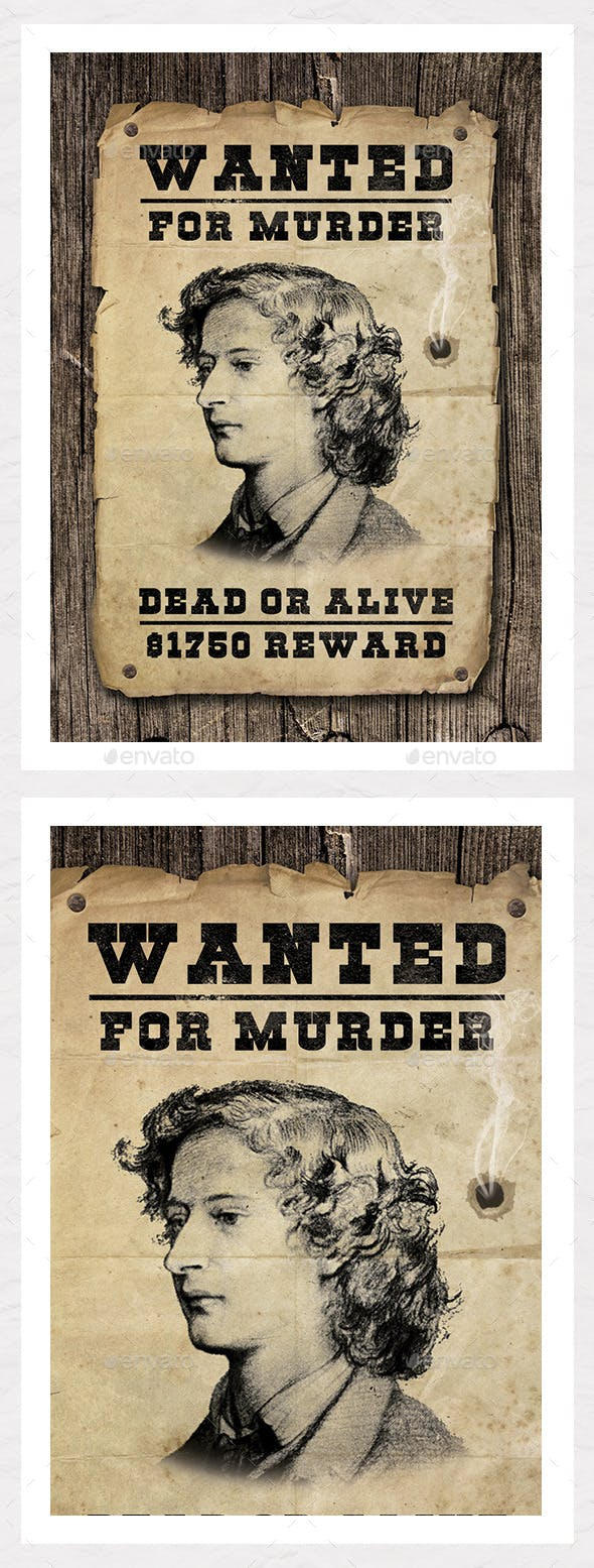 wanted poster graphic create your own miscellaneous events
