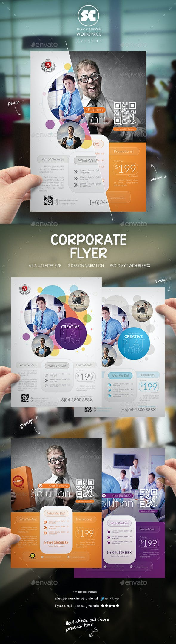 Creative Business Flyer By Shamcanggih