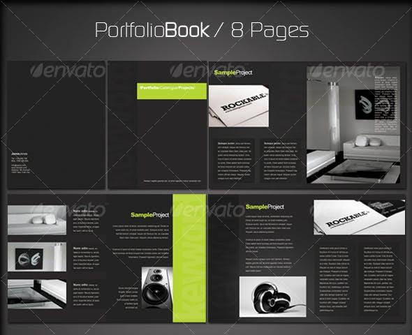 portfolio book 2 8 pages by esteeml graphicriver.html