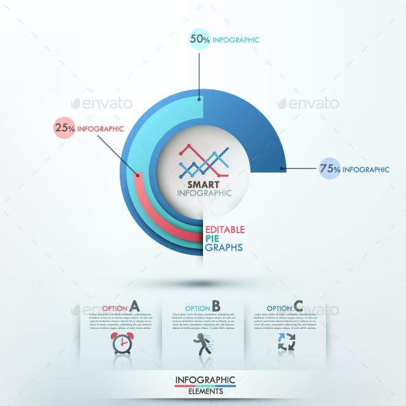 Pie Chart Graphics Designs Templates From Graphicriver Page 7