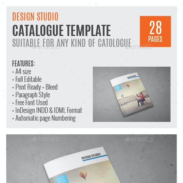 Indesign Catalog Stationery And Design Templates Page 2