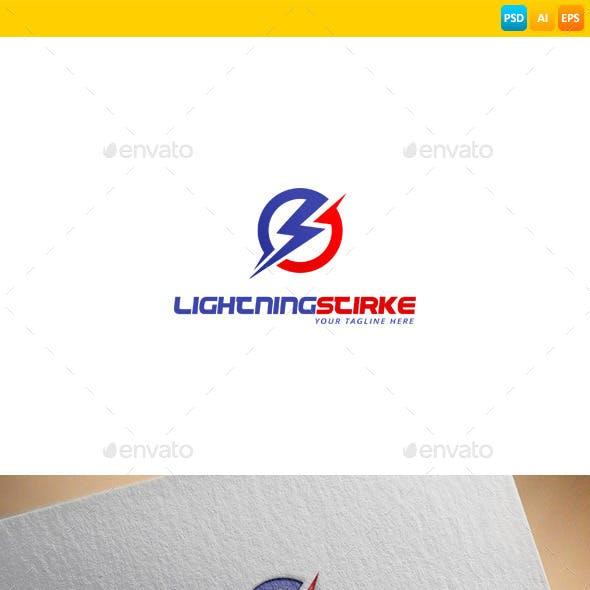 Lightning Strike Logo Templates from GraphicRiver