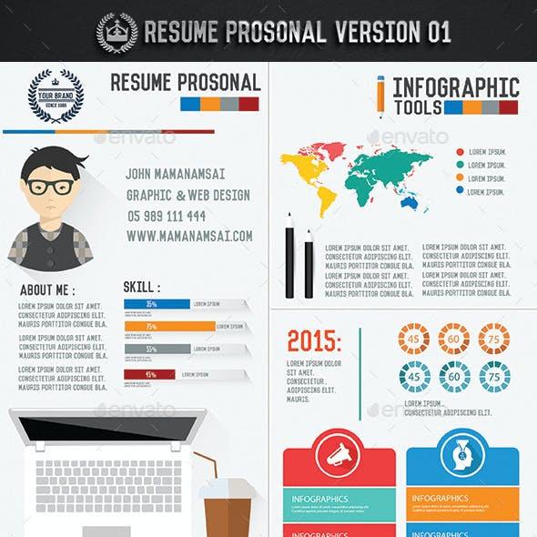 resume infographic designupdate icons