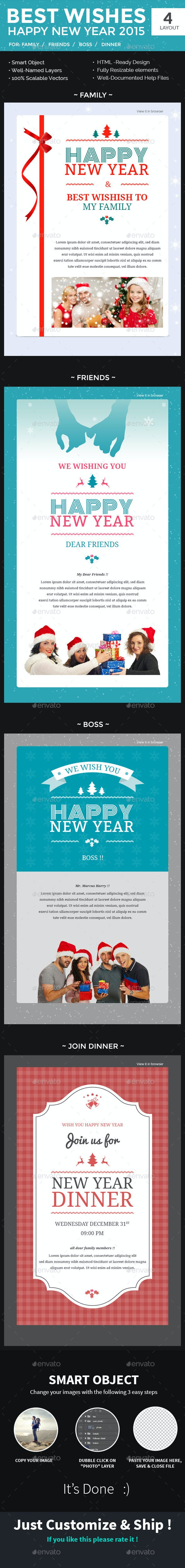 new year newsletter psd template e newsletters web elements