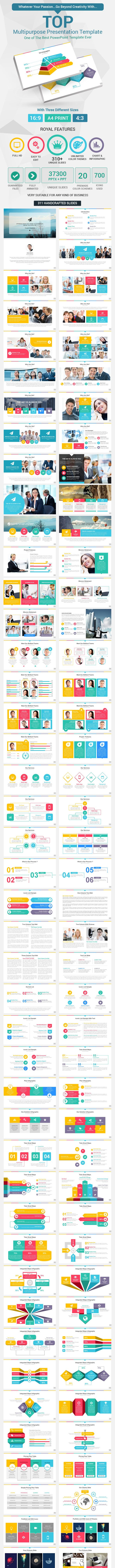 top powerpoint presentation template by rojdark graphicriver