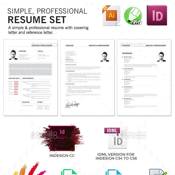 biodata template graphics designs template from graphicriver
