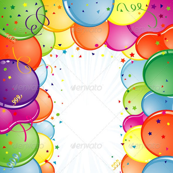 Birthday Frame Graphics, Designs & Templates from GraphicRiver