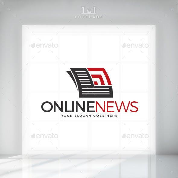 E news logo template from graphicriver online news logo maxwellsz