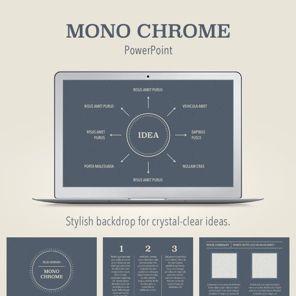 chrome presentation templates from graphicriver