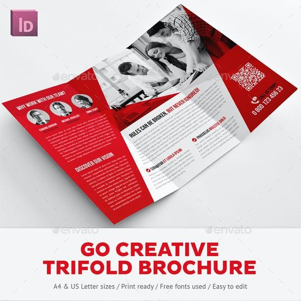 creative trifold brochure graphics designs templates