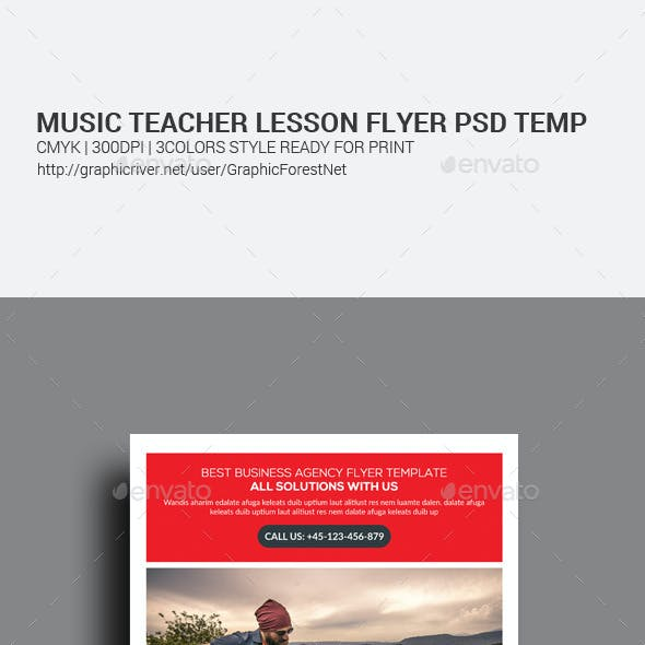 introduction music flyer templates from graphicriver
