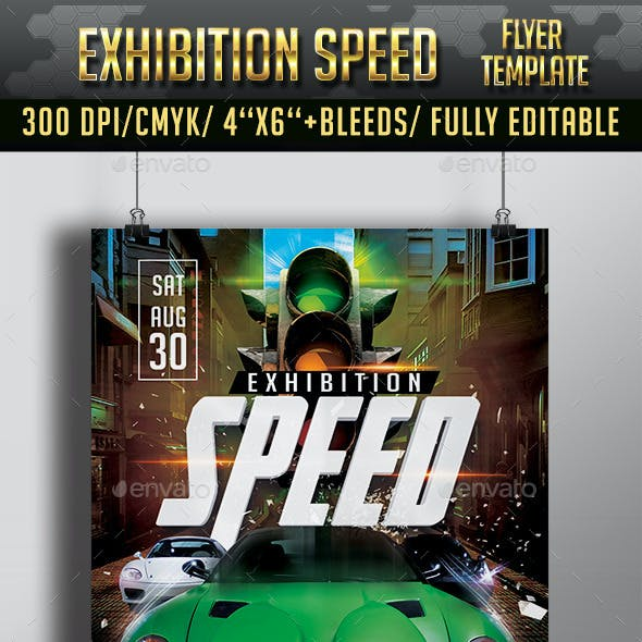 Car Event and Car Race Graphics, Designs & Templates