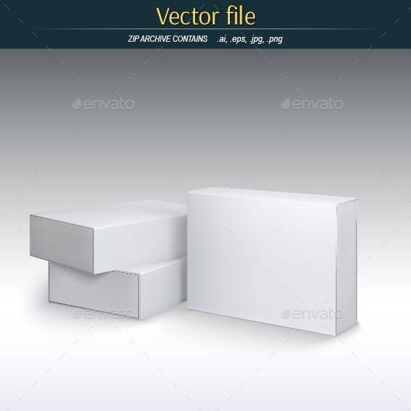 Box Template Graphics Designs Templates From GraphicRiver