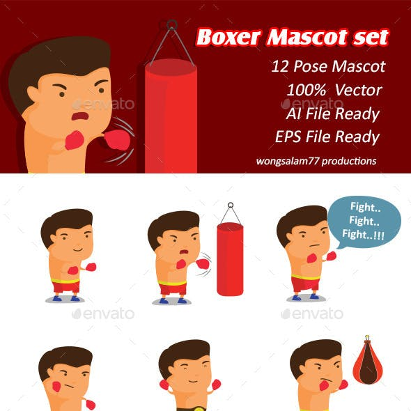 boxing glove graphics designs templates from graphicriver