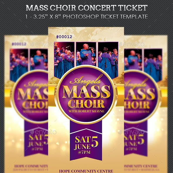choir musical graphics designs templates from graphicriver