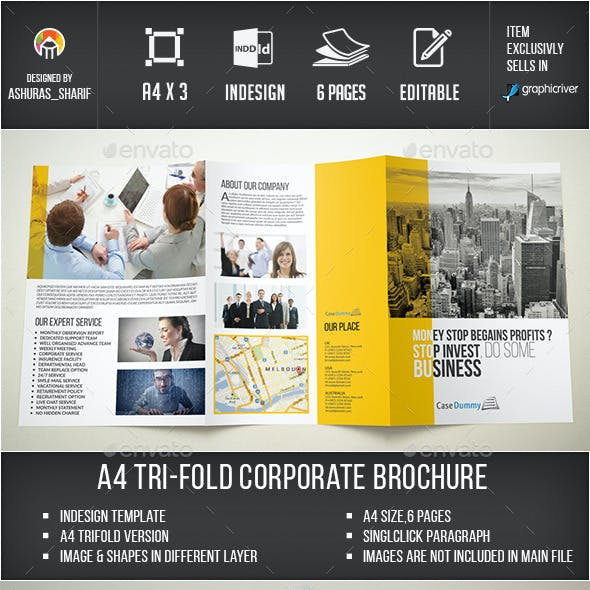 course brochure graphics designs templates from graphicriver