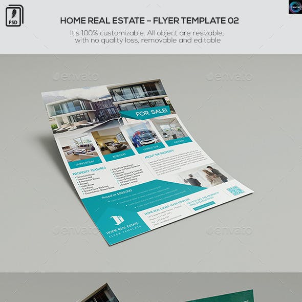 realestate flyer graphics designs templates from graphicriver