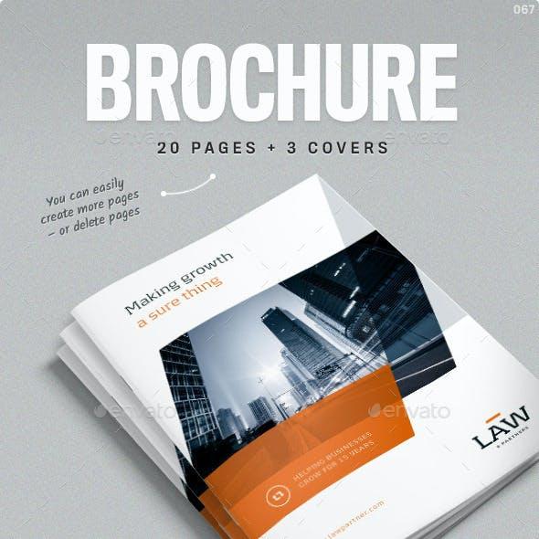 2019's Best Selling Brochure Templates