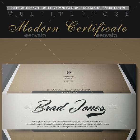Certificate Templates Designs From Graphicriver Page 32