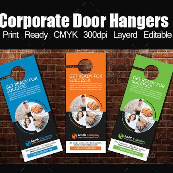door hanger template graphics designs templates