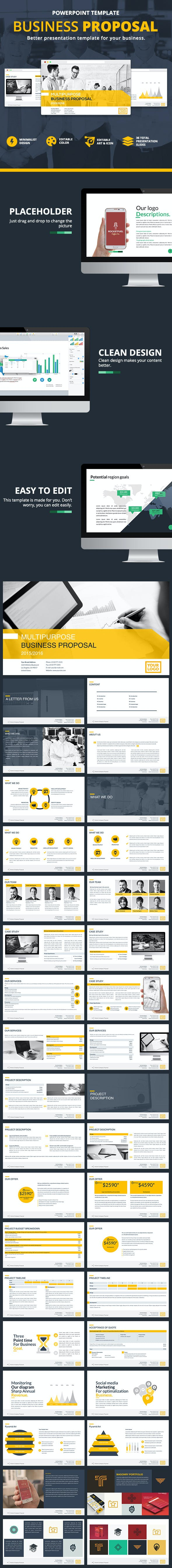 business proposal presentation by atsar graphicriver