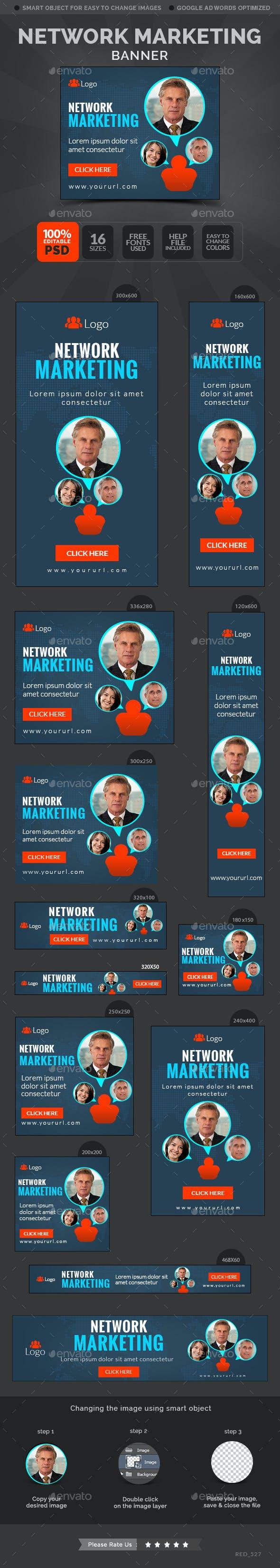 Multi Level Marketing Banners Hub Banners