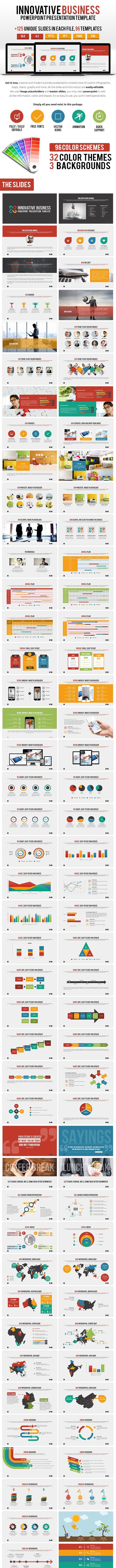 innovative business powerpoint presentation by spriteit graphicriver