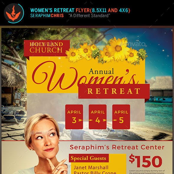 womens retreat graphics designs templates from graphicriver
