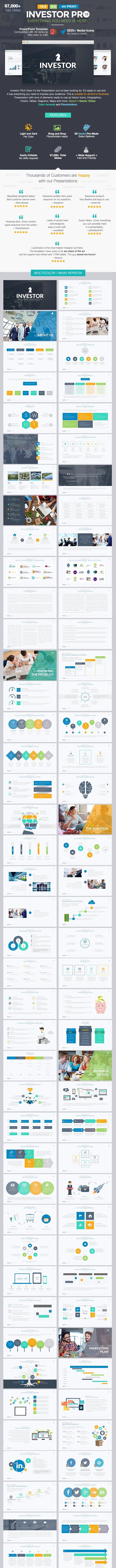 investor pitch deck powerpoint template by louistwelve design
