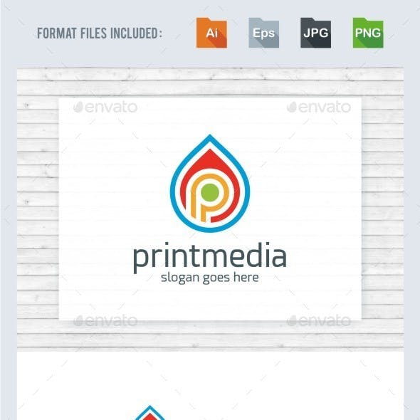 Print media logo templates from graphicriver print media logo template maxwellsz