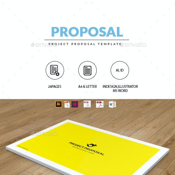Branding Proposal Templates Graphics Designs Templates