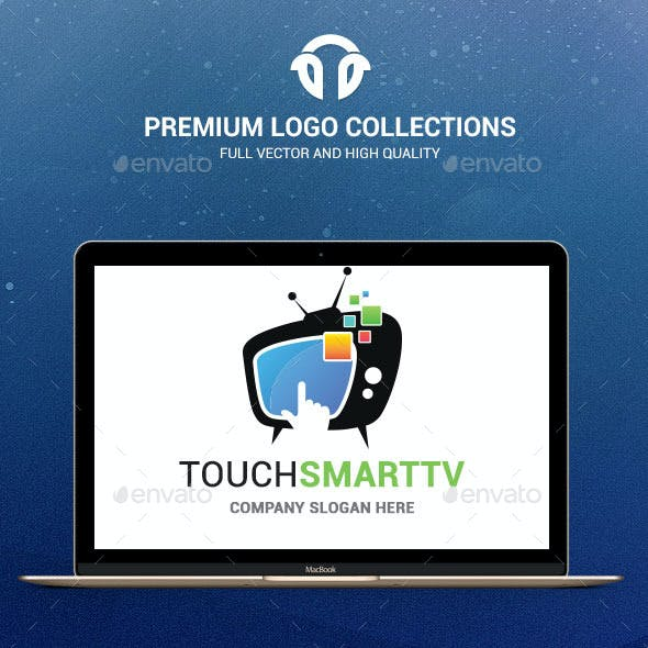 Facebook minimalist logo template from graphicriver touch smarttv maxwellsz
