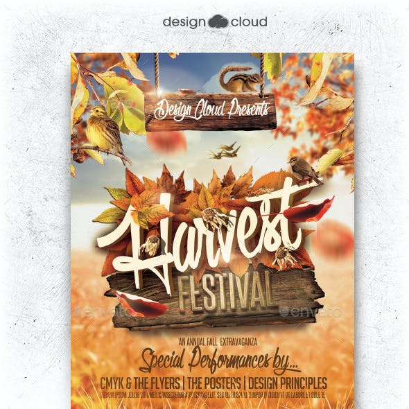 harvest festival graphics designs templates from graphicriver
