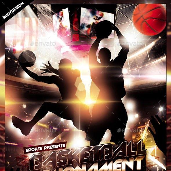 basketball tournament flyer graphics designs templates