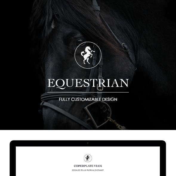 Horse Powerpoint Template From Graphicriver