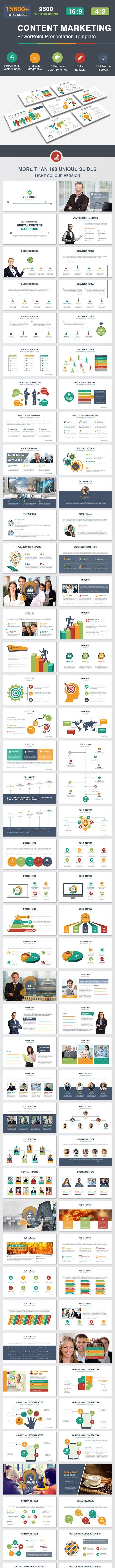 content marketing powerpoint presentation template by dotnpix