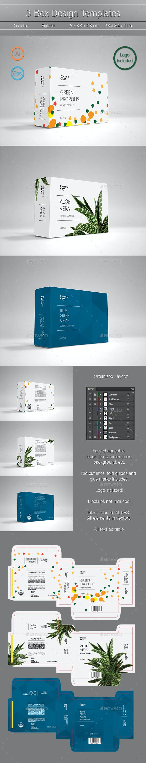 3 box design templates by mihalymm graphicriver