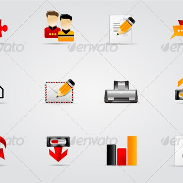 Melo Icons From Graphicriver