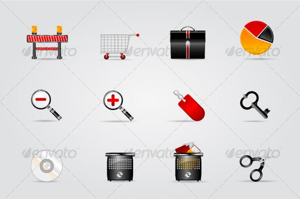 Melo Icon Set Website And Internet Icon 6 By Tinose Graphicriver